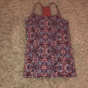 Aéropostale Red White & Blue Cami Size Extra Small